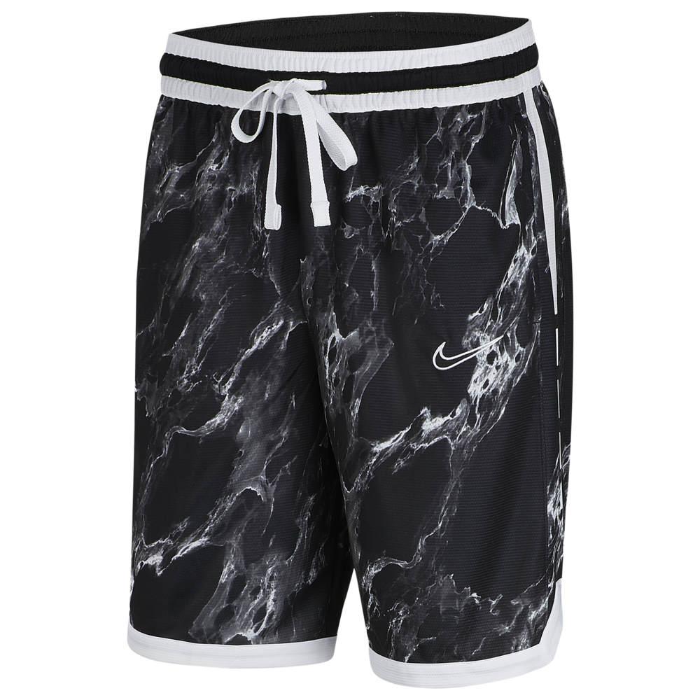 ナイキ Nike メンズ バスケットボール ショートパンツ ボトムス・パンツ【Elite Stripe Marble Shorts】Black/White