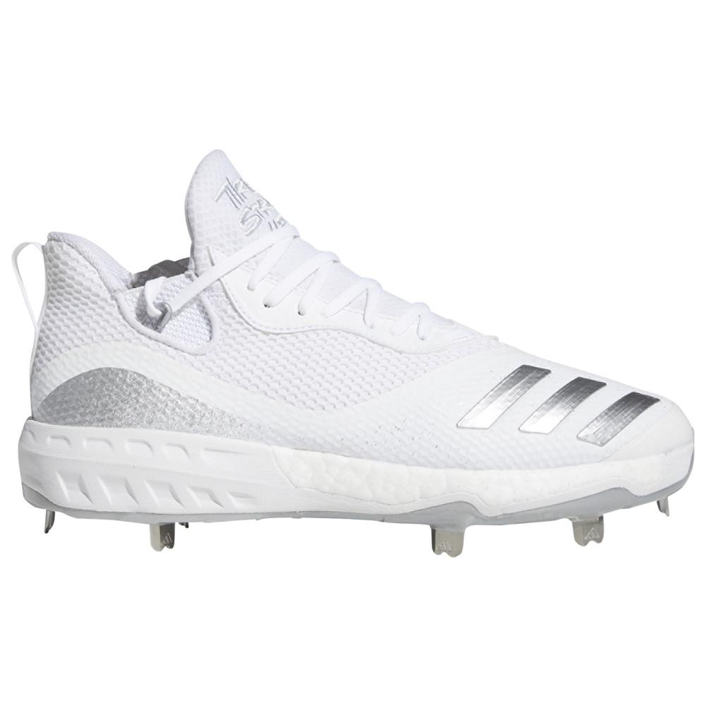 アディダス adidas メンズ 野球 シューズ・靴【Icon V Boost】White/Silver Metallic/White