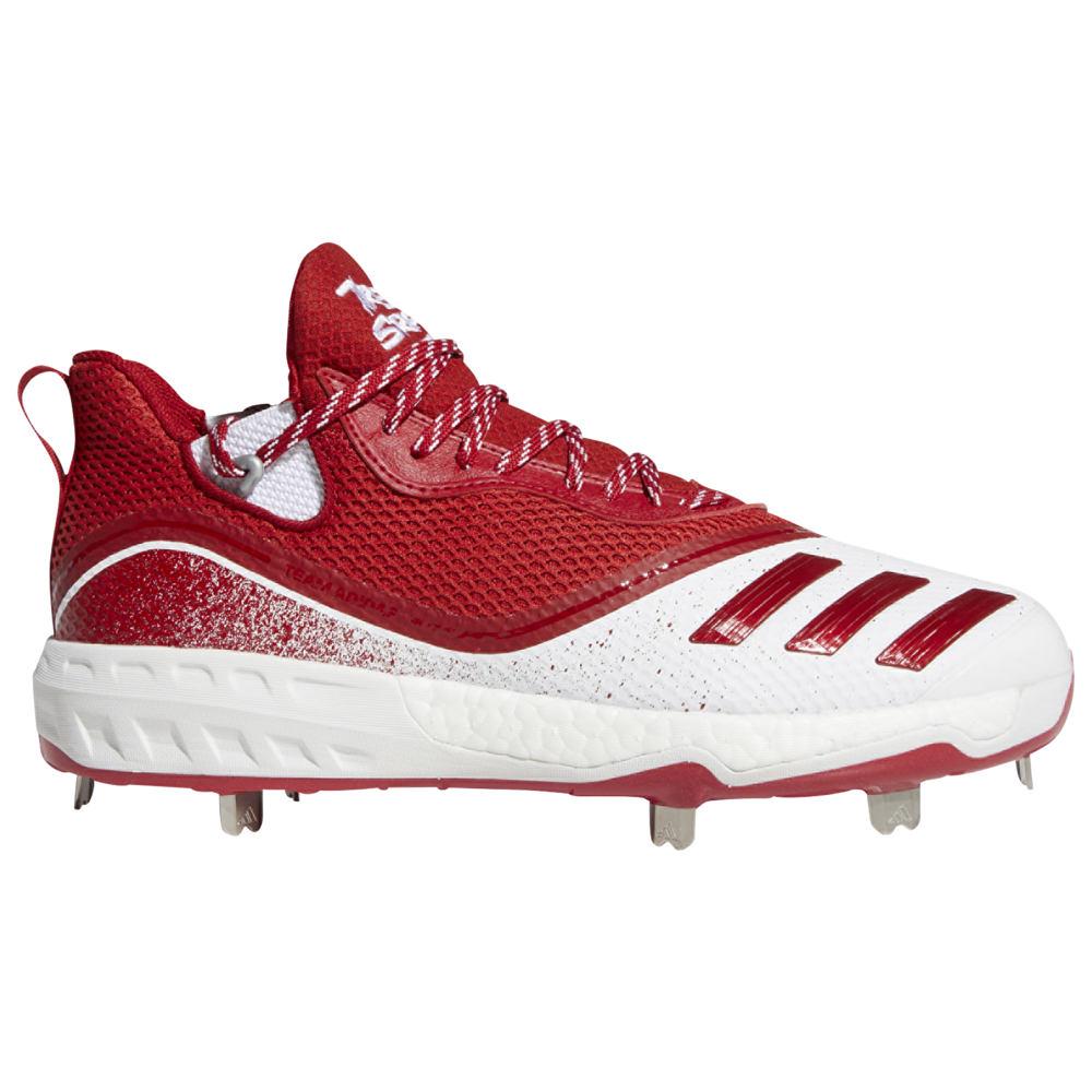 アディダス adidas メンズ 野球 シューズ・靴【Icon V Boost】White/Power Red/Silver Metallic