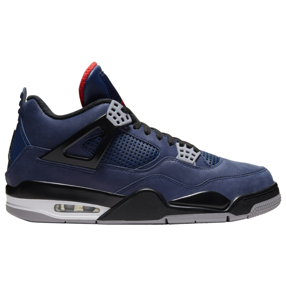 ナイキ ジョーダン Jordan メンズ バスケットボール シューズ・靴【Retro 4】Loyal Blue/Black/White/Habanero Red
