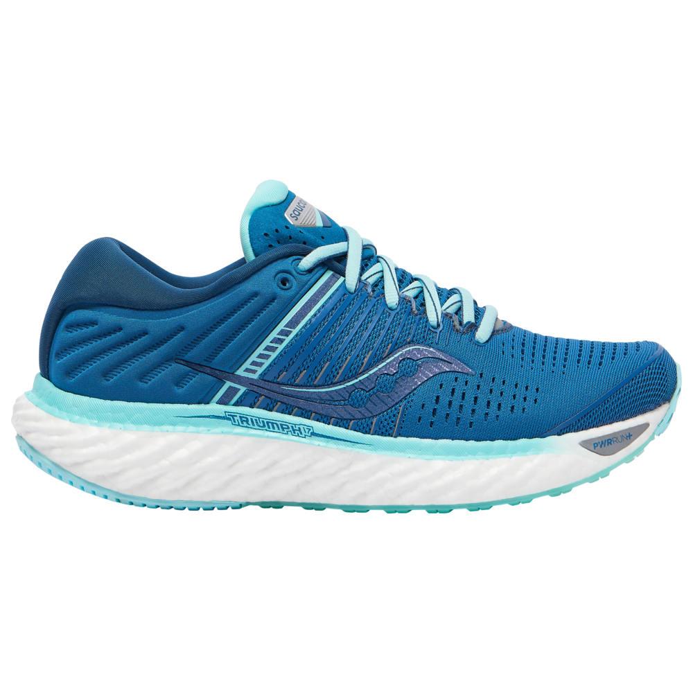 サッカニー Saucony レディース ランニング・ウォーキング シューズ・靴【Triumph 17】Blue Aqua