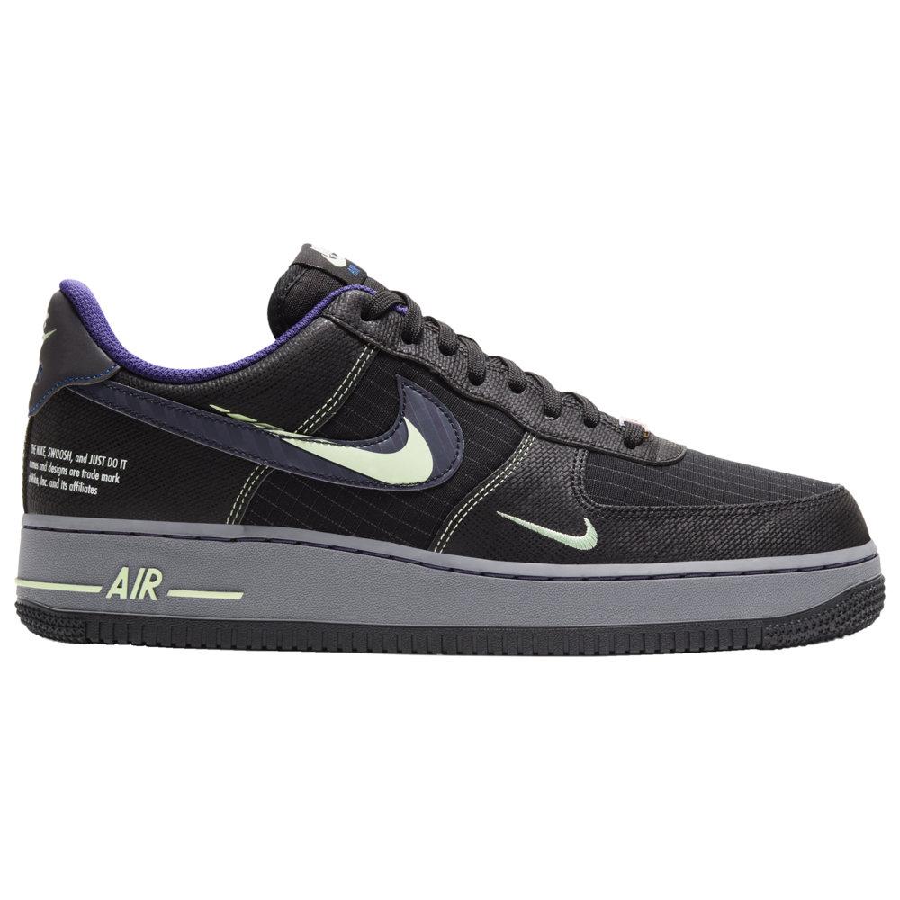 ナイキ Nike メンズ バスケットボール エアフォースワン シューズ・靴【Air Force 1 LV8】Black/Cool Grey/Vapor Green/Racer Blue Future Swoosh