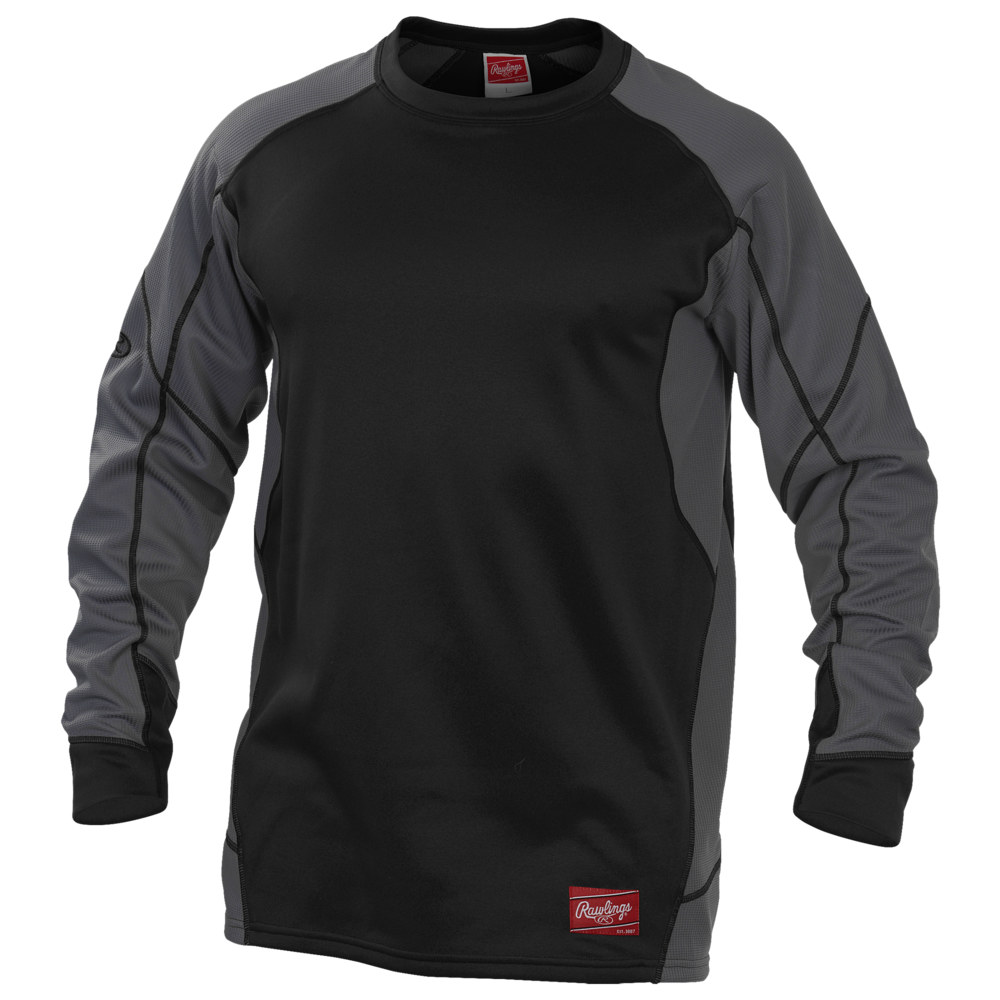 ローリングス Rawlings メンズ フリース トップス【Dugout Fleece Pullover】Black