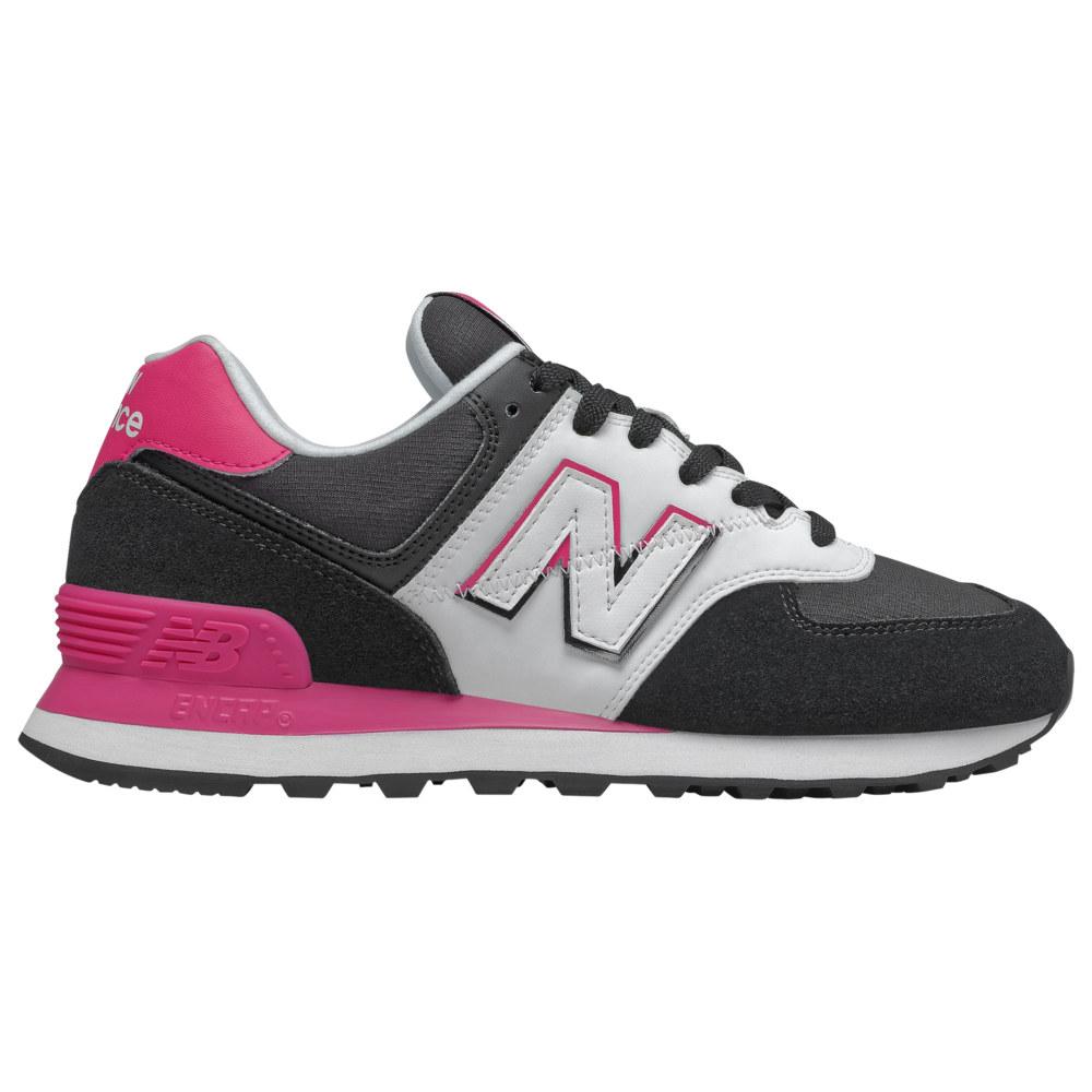 ニューバランス New Balance レディース ランニング・ウォーキング シューズ・靴【574 Classic】Black/Pink Split Sail