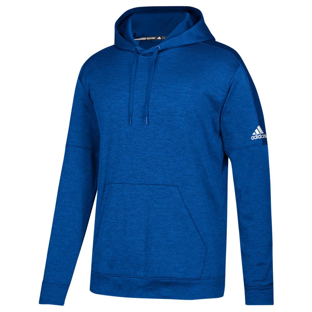 アディダス adidas メンズ フィットネス・トレーニング パーカー トップス【Team Issue Fleece Pullover Hoodie】Collegiate Royal/White
