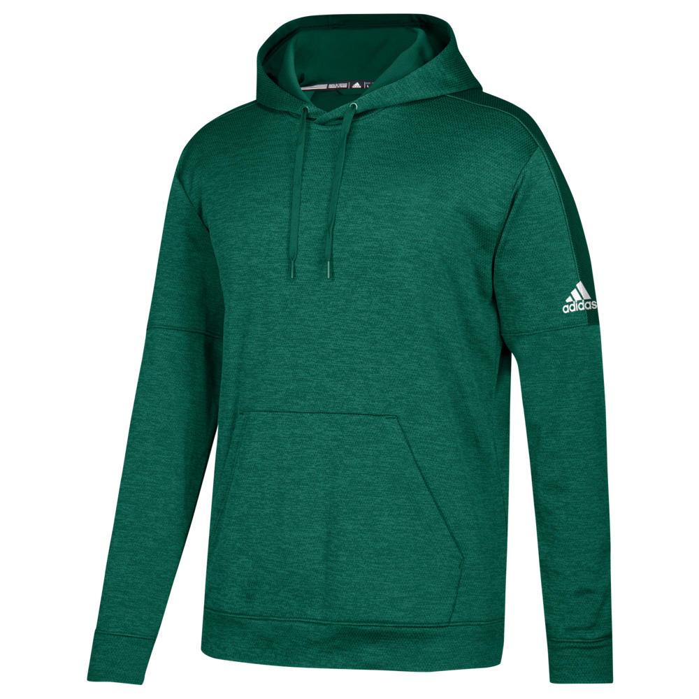 アディダス adidas メンズ フィットネス・トレーニング パーカー トップス【Team Issue Fleece Pullover Hoodie】Dark Green/White