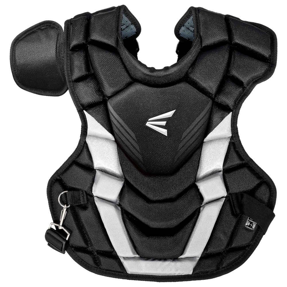 イーストン Easton ユニセックス 野球 チェストプロテクター プロテクター【Intermediate Gametime Chest Protector】Black/Silver