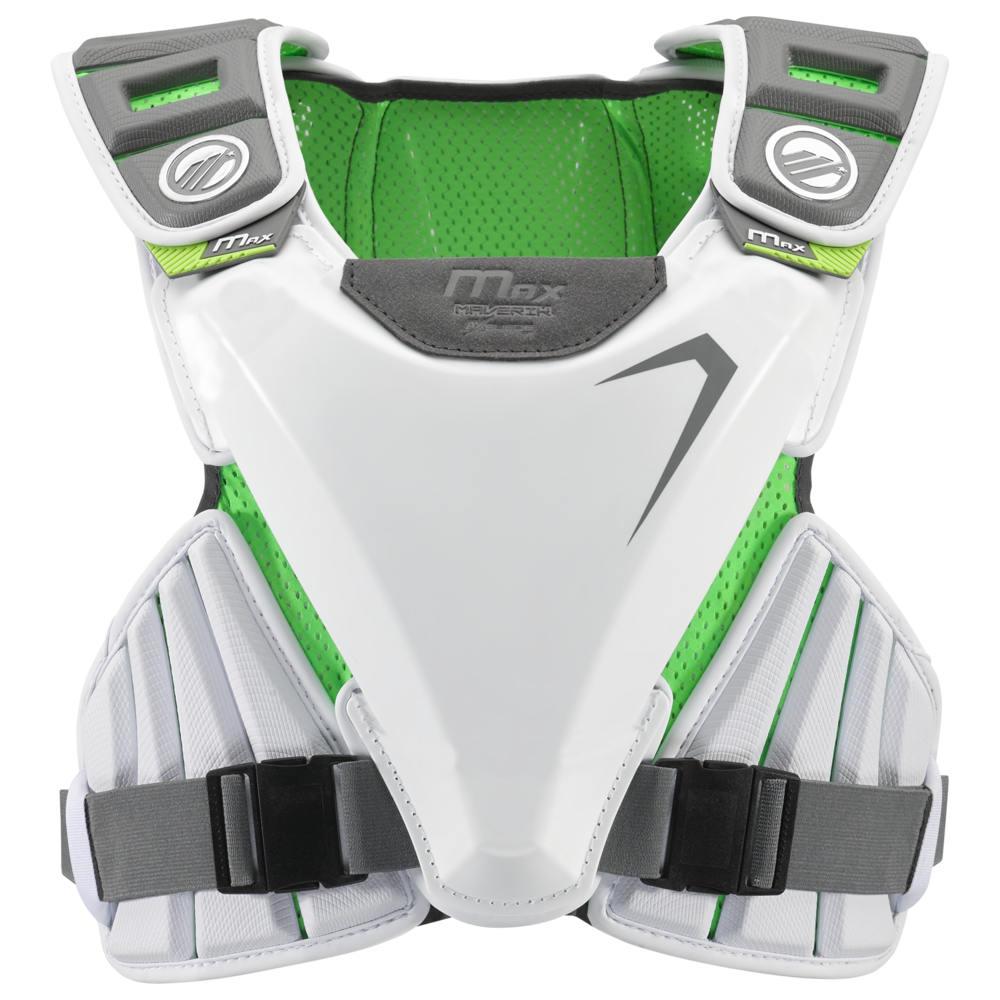 マーヴェリック Maverik Lacrosse メンズ ラクロス プロテクター【Max EKG Speedpad】White