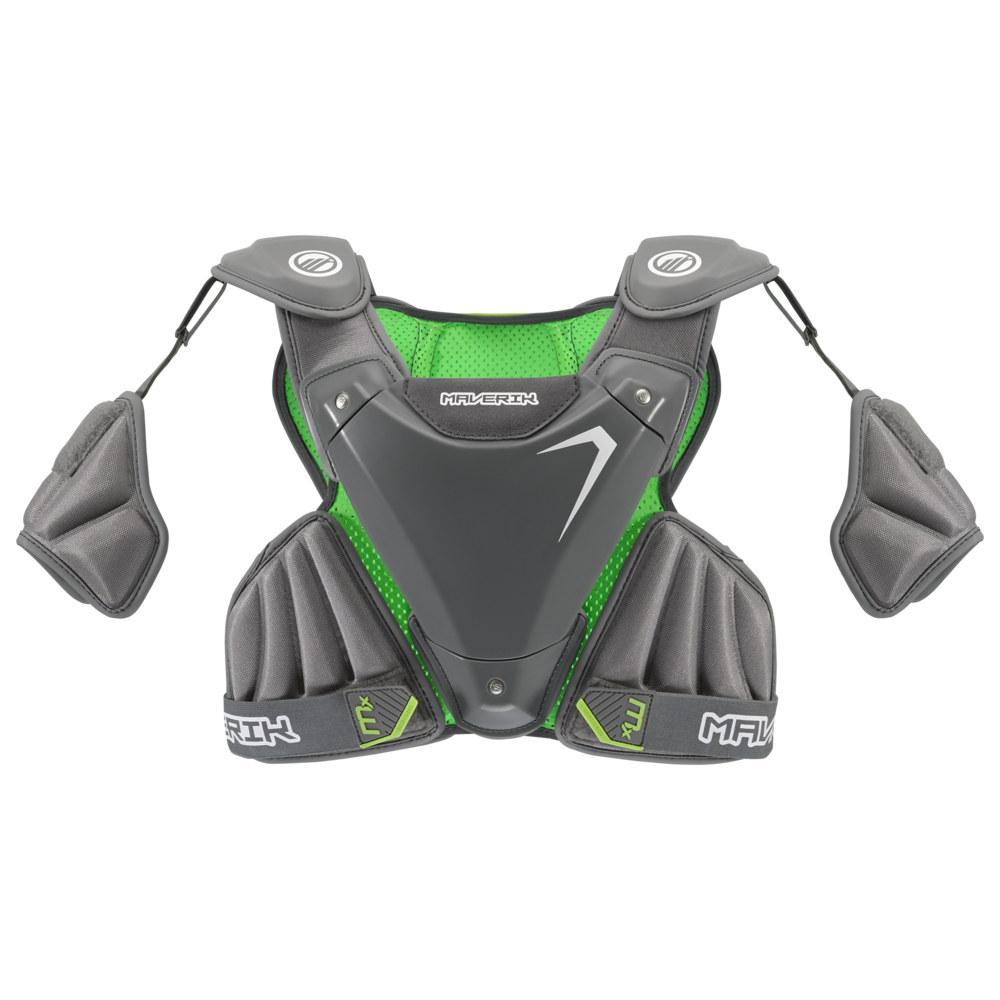 マーヴェリック Maverik Lacrosse メンズ ラクロス プロテクター【MX EKG Shoulder Pad】Grey