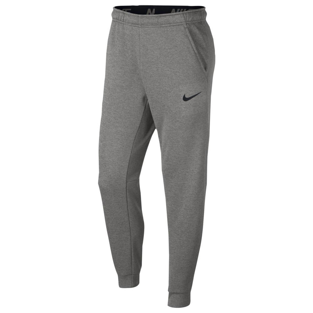 ナイキ Nike メンズ フィットネス・トレーニング テーパードパンツ ボトムス・パンツ【Therma Fleece Tapered Pants】Dark Grey Heather/Black