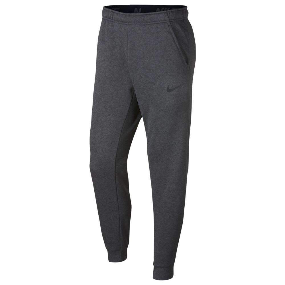 ナイキ Nike メンズ フィットネス・トレーニング テーパードパンツ ボトムス・パンツ【Therma Fleece Tapered Pants】Charcoal Heather/Black