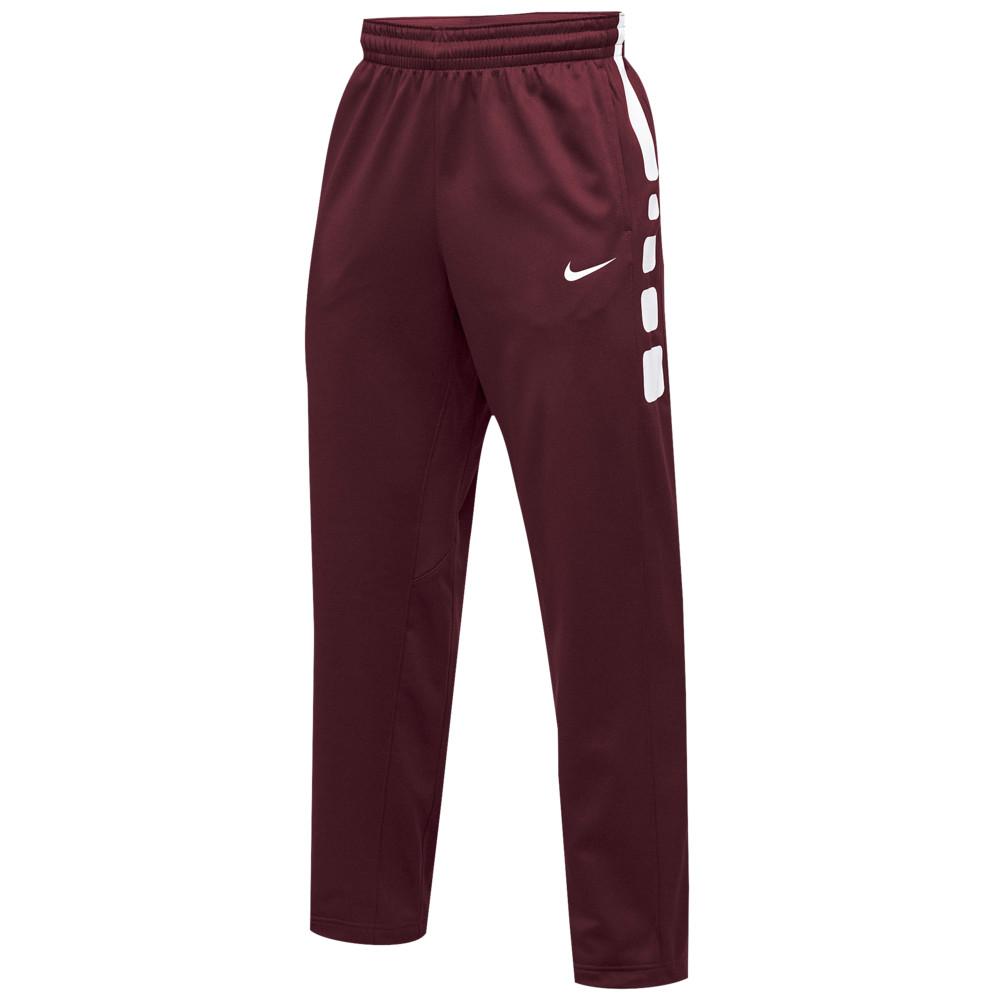 ナイキ Nike メンズ バスケットボール ボトムス・パンツ【Team Elite Stripe Pants】Cardinal/White