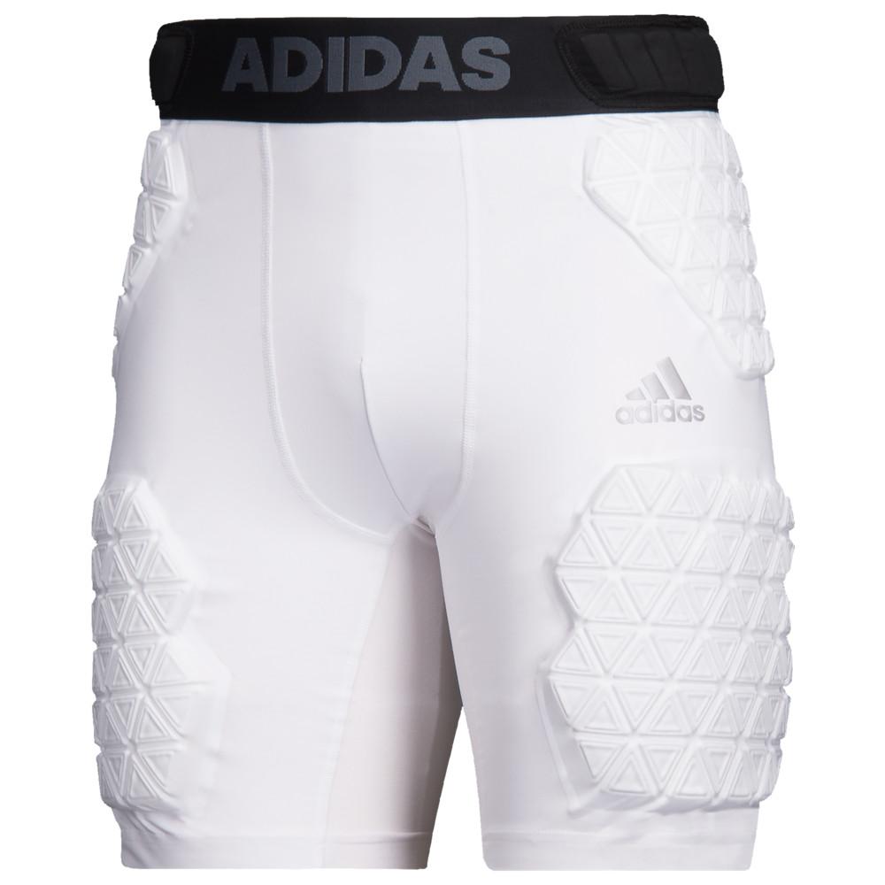 アディダス adidas メンズ アメリカンフットボール ガードル ボトムス・パンツ【Alphaskin Force 5-Pad Girdle】White/Black