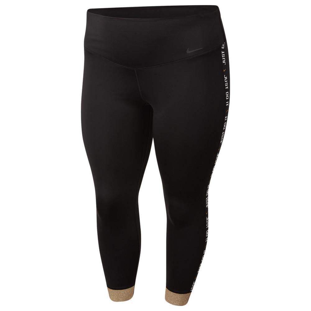 ナイキ Nike レディース フィットネス・トレーニング 大きいサイズ スパッツ・レギンス ボトムス・パンツ【One Plus Size Glam Dunk 7/8 Tights】
