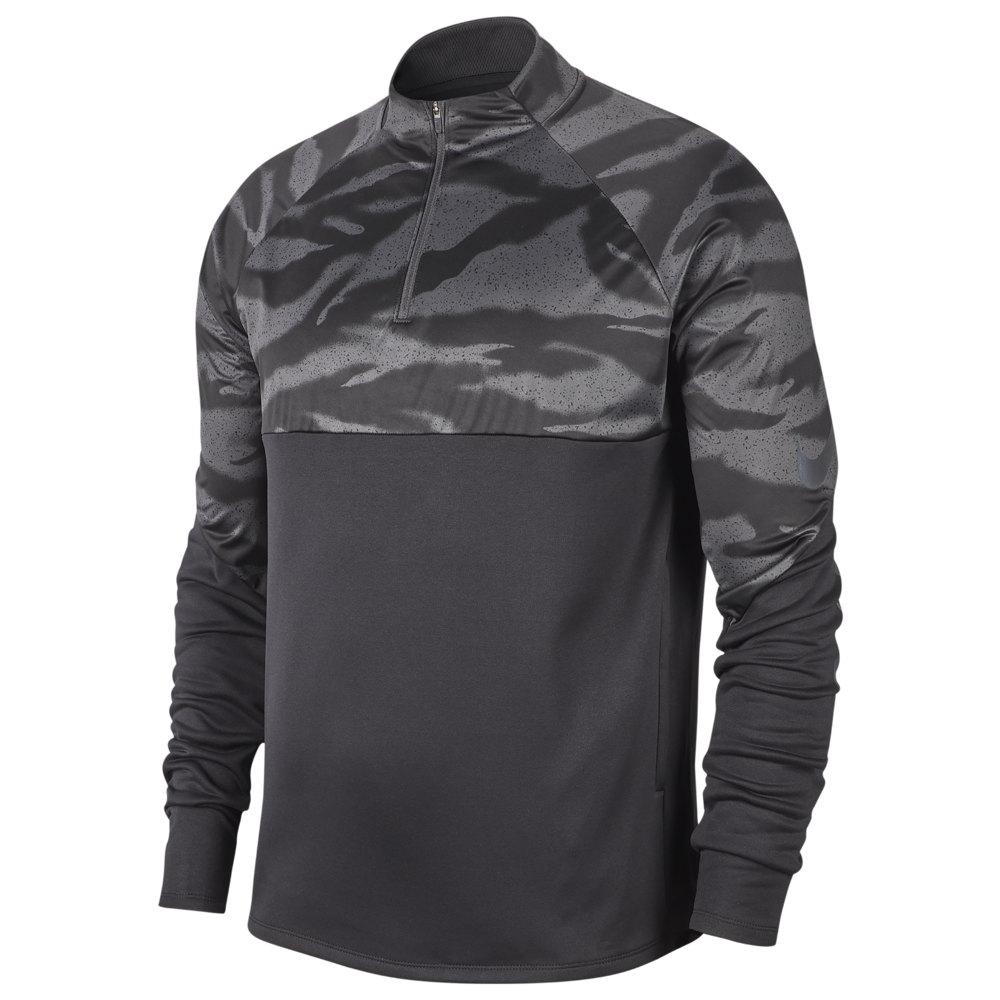 ナイキ Nike メンズ サッカー トップス【Strike Therma Shield Drill Top】Black/Anthracite/Reflect Black