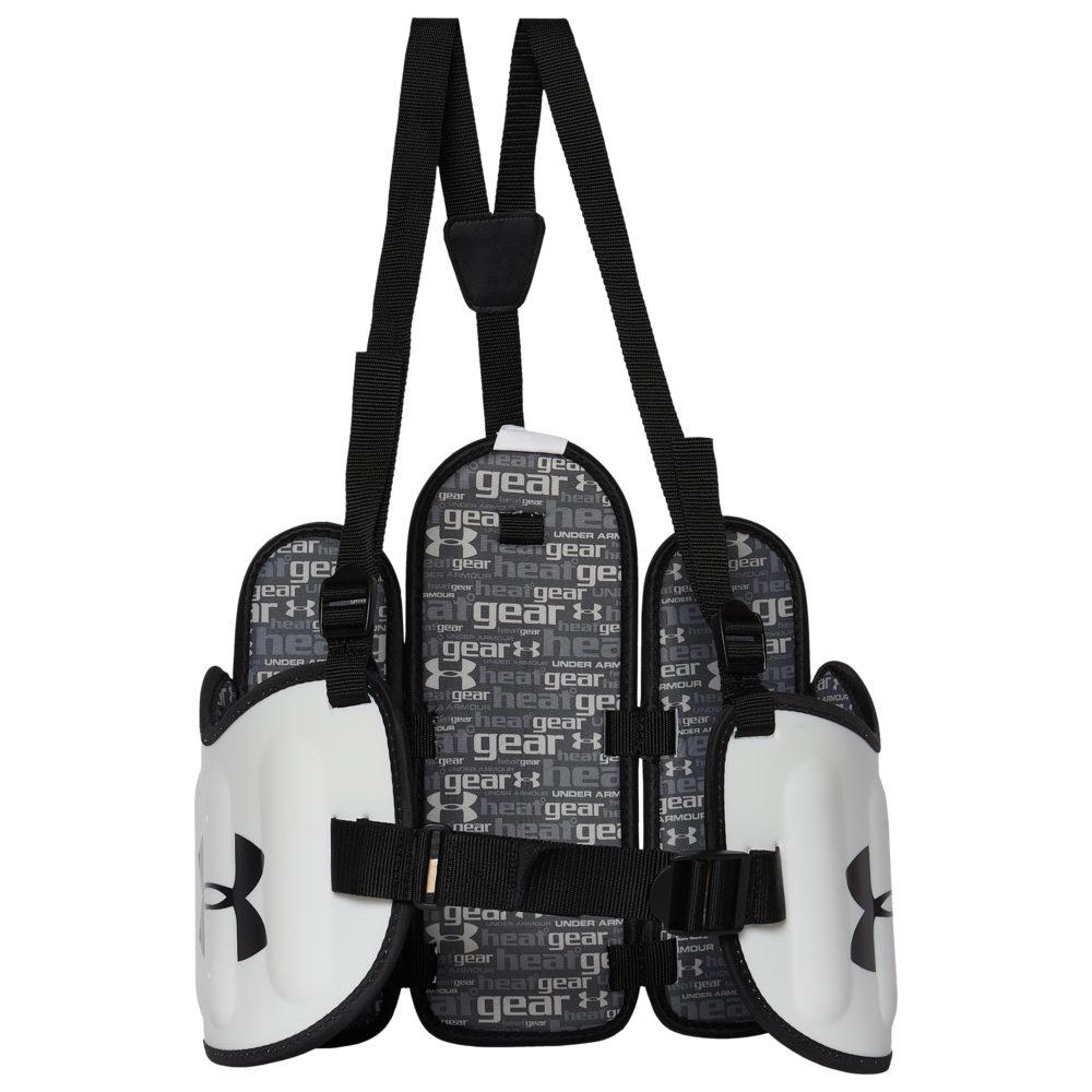 アンダーアーマー Under Armour メンズ ラクロス プロテクター【Spectre Box Lacrosse Kidney Pads】White