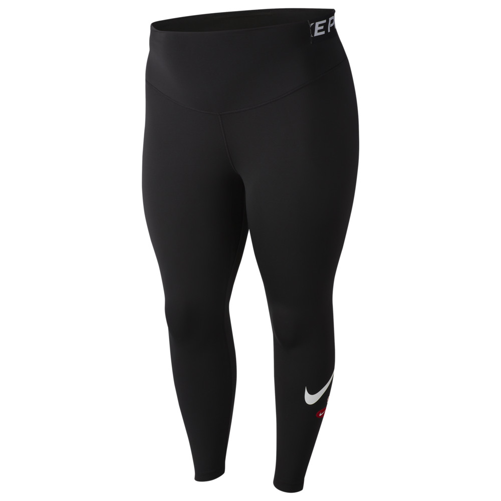 ナイキ Nike レディース フィットネス・トレーニング 大きいサイズ スパッツ・レギンス ボトムス・パンツ【Plus Size One JDIY Tights】