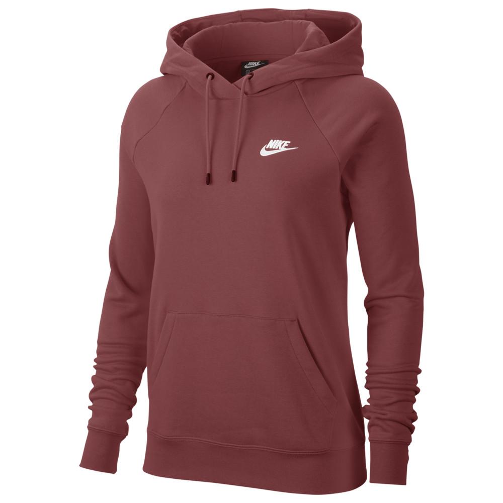 ナイキ Nike レディース パーカー トップス【Essential Hoodie Pullover Fleece】Cedar/White