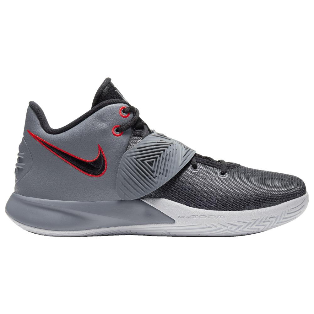 ナイキ Nike メンズ バスケットボール シューズ・靴【Kyrie Flytrap 3】Kyrie Irving Cool Grey/Black/Bright Crimson/White