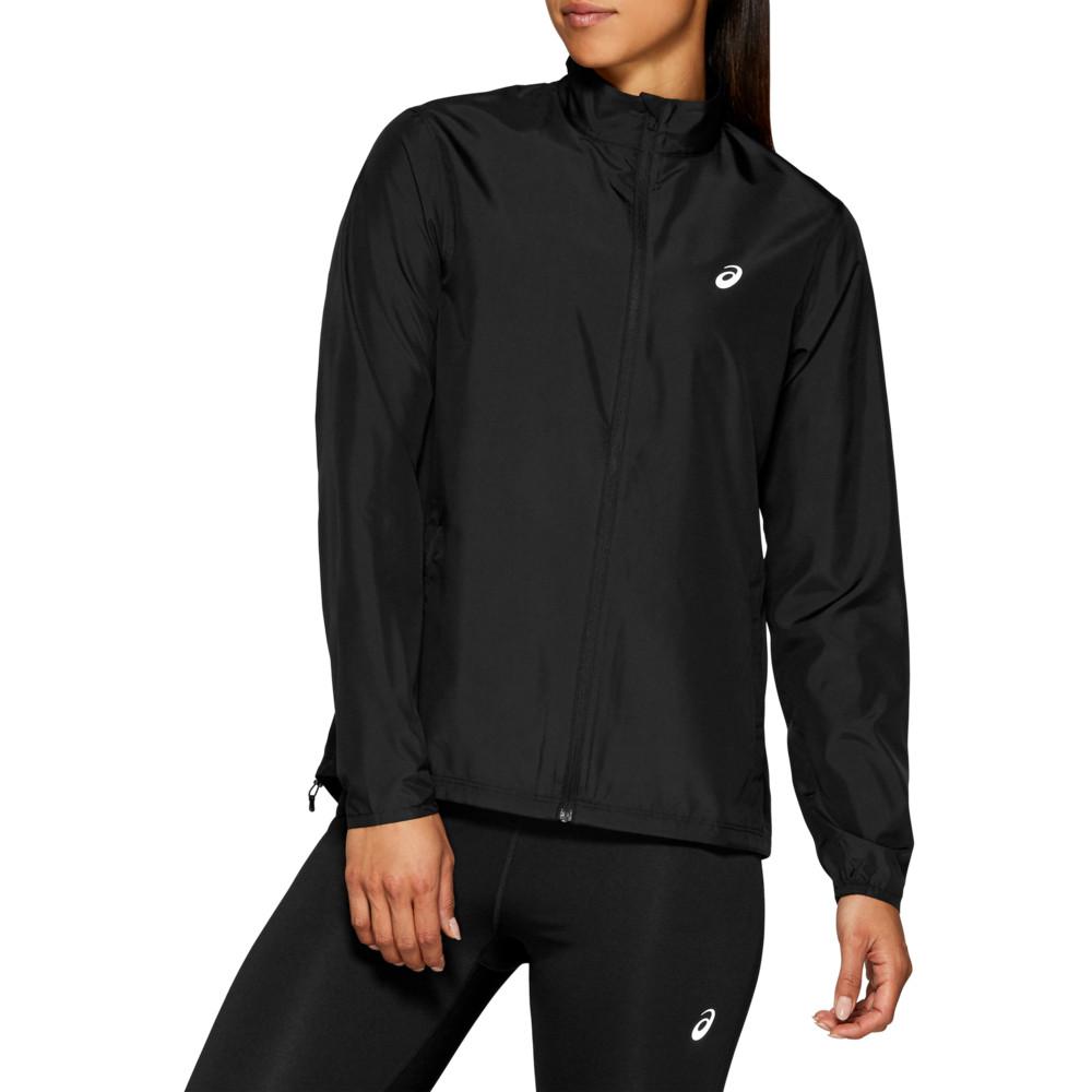 アシックス ASICS レディース フィットネス・トレーニング ジャケット アウター【Silver Jacket】Performance Black