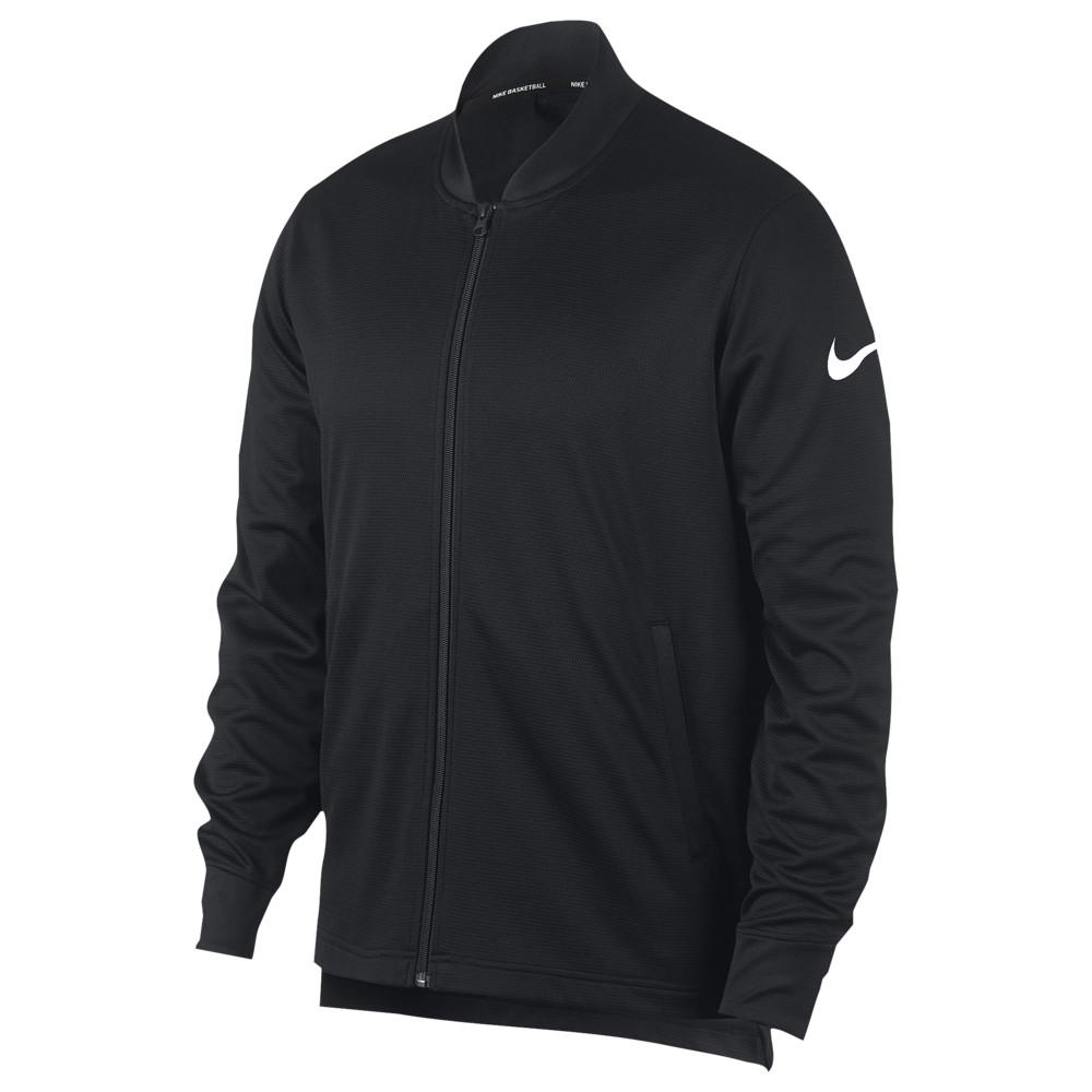 ナイキ Nike メンズ バスケットボール ジャケット アウター【Rivalry Jacket】Black/White