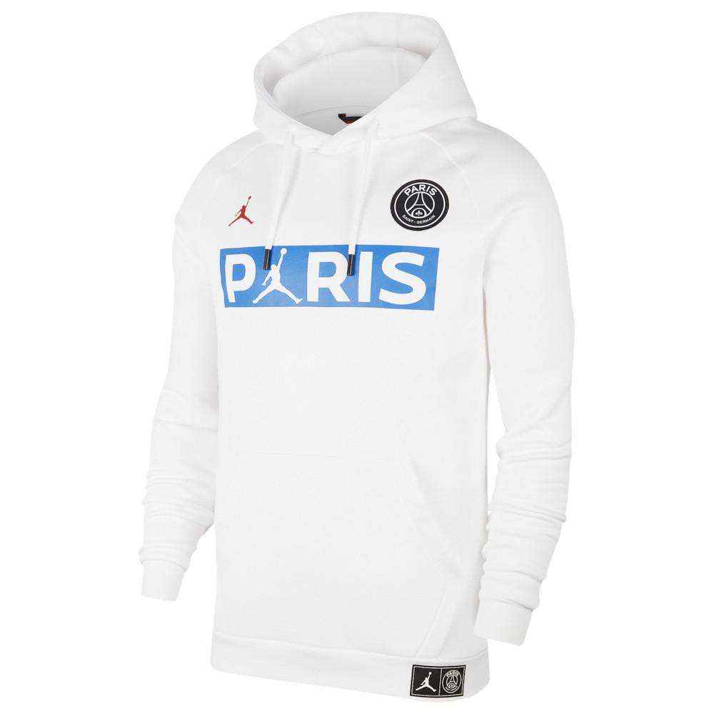 ナイキ ジョーダン Jordan メンズ フリース ジャンプマン トップス【PSG Jumpman Fleece Hoodie】Soccer International Clubs Paris Saint Germain White/University Red