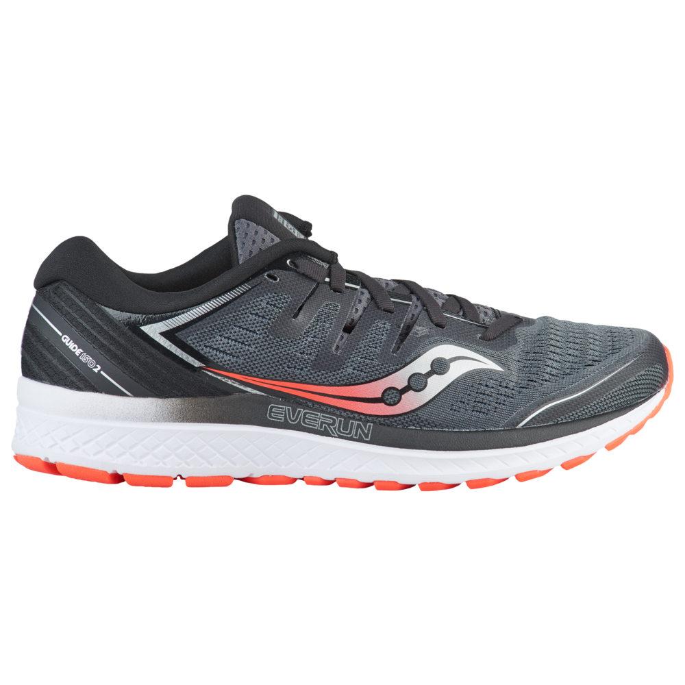 サッカニー Saucony メンズ ランニング・ウォーキング シューズ・靴【Guide ISO 2】Black/Grey