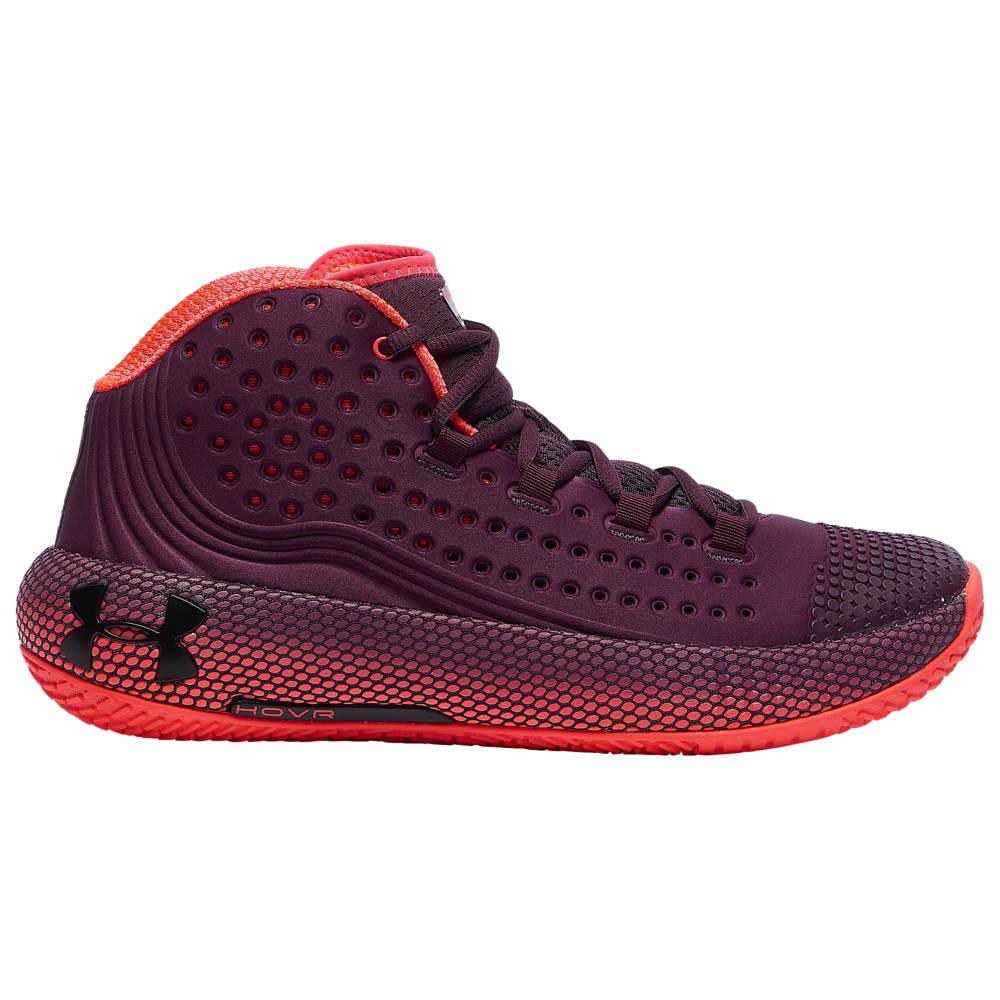 アンダーアーマー Under Armour メンズ バスケットボール シューズ・靴【HOVR Havoc 2】Kinetic Purple/Beta Red/Black
