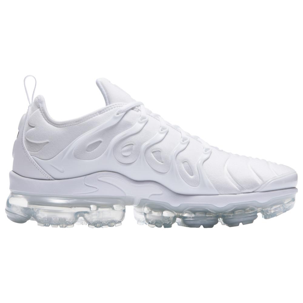 ナイキ Nike メンズ ランニング・ウォーキング シューズ・靴【Air Vapormax Plus】White/White/Pure Platinum