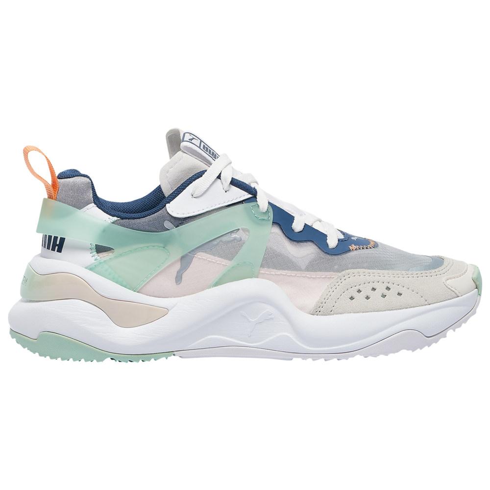 プーマ PUMA レディース フィットネス・トレーニング シューズ・靴【Rise】White/Mist Green/Cantaloupe