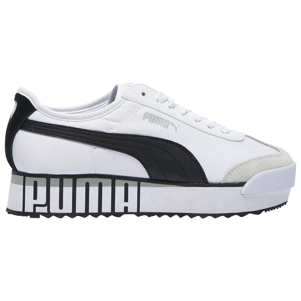 プーマ PUMA レディース フィットネス・トレーニング シューズ・靴【Roma Amor】White/Black Logo