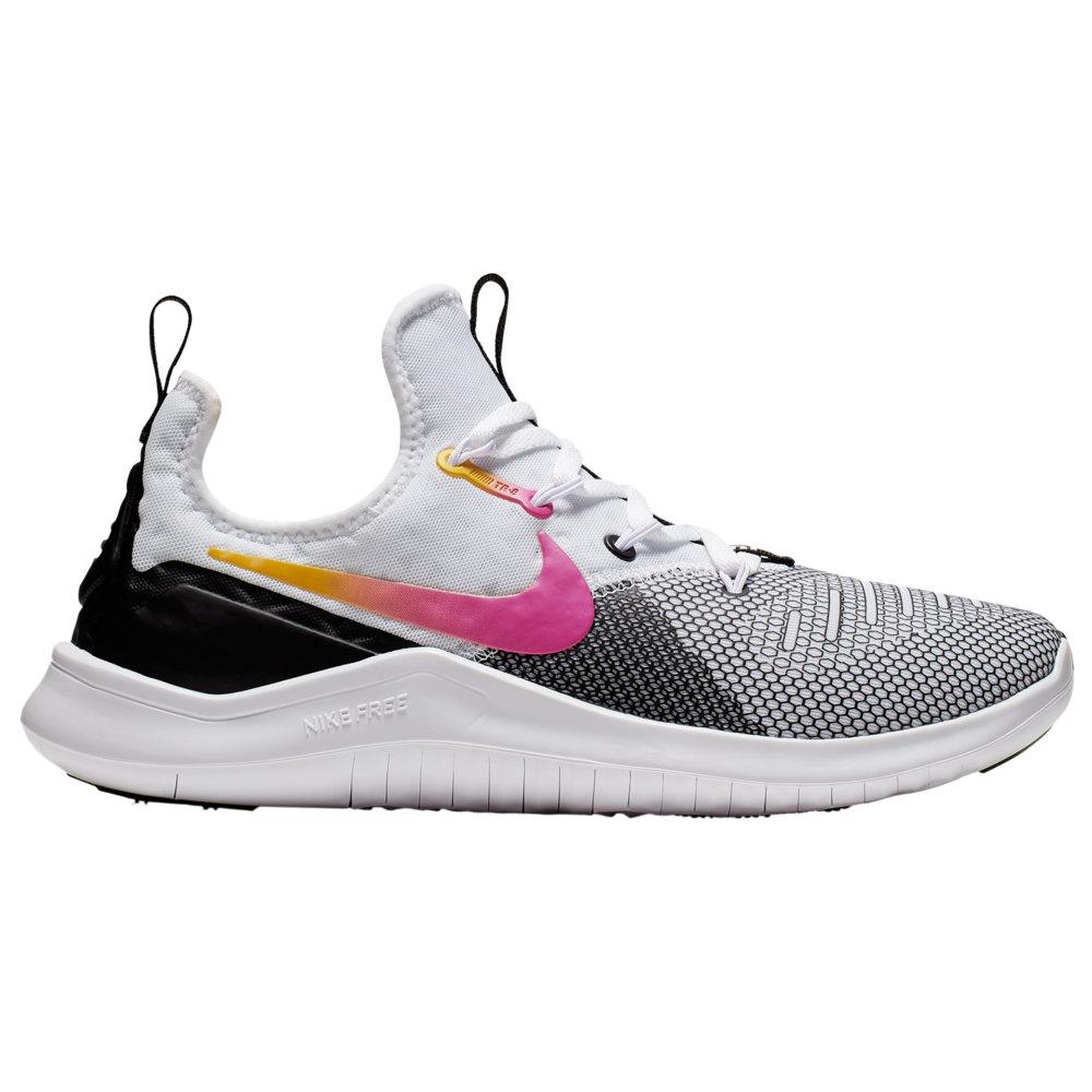 ナイキ Nike レディース フィットネス・トレーニング シューズ・靴【Free TR 8】White/Black/Laser Fuschia Icon Clash