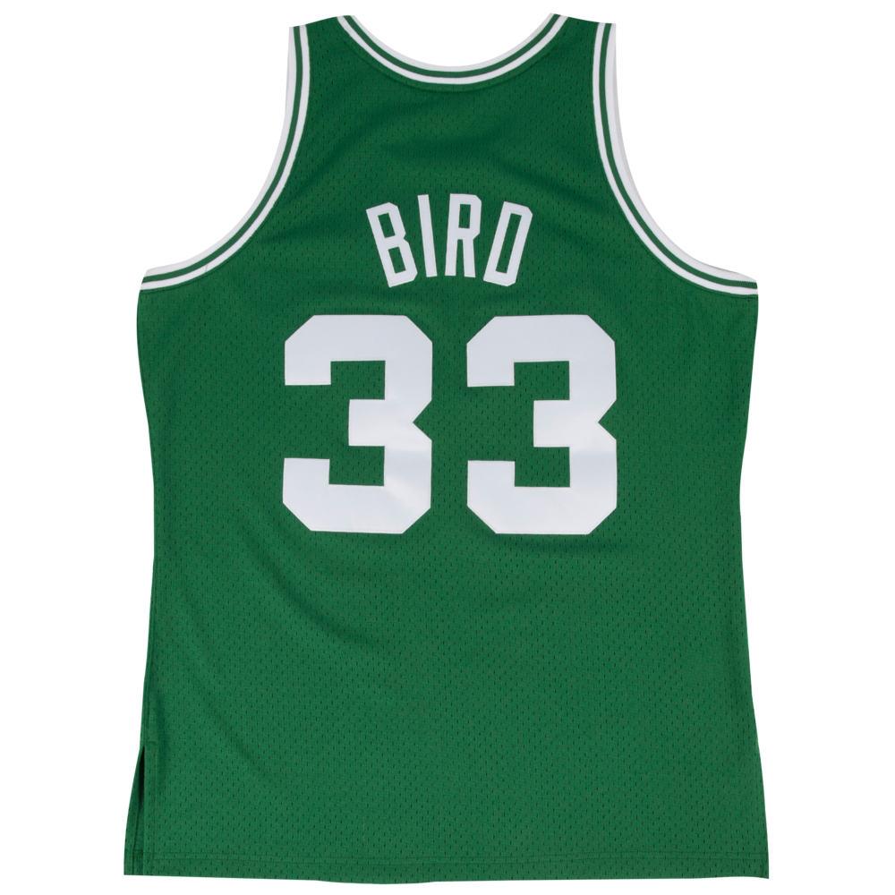 ミッチェル&ネス Mitchell & Ness メンズ バスケットボール トップス【NBA Swingman Jersey】NBA Boston Celtics Larry Bird Green to