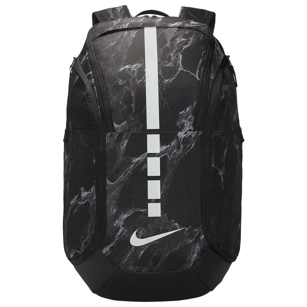 ナイキ Nike ユニセックス バックパック・リュック バッグ【Hoops Elite Pro AOP Backpack】Black/Silver