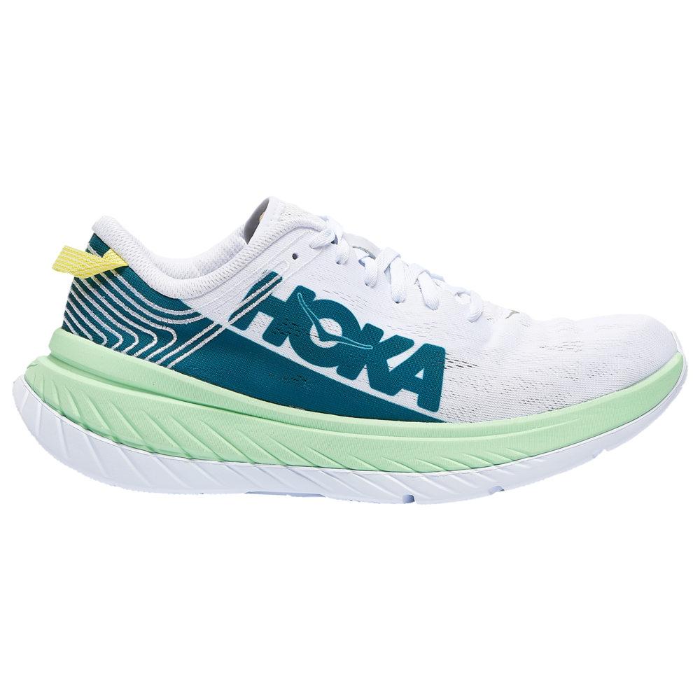 ホカ オネオネ HOKA ONE ONE メンズ ランニング・ウォーキング シューズ・靴【Carbon X】Green Ash/White