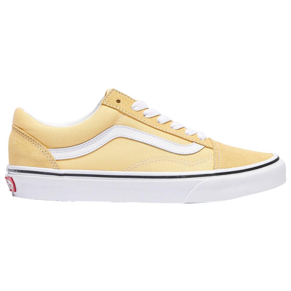 ヴァンズ Vans レディース スケートボード シューズ・靴【Old Skool】Golden Haze/True White