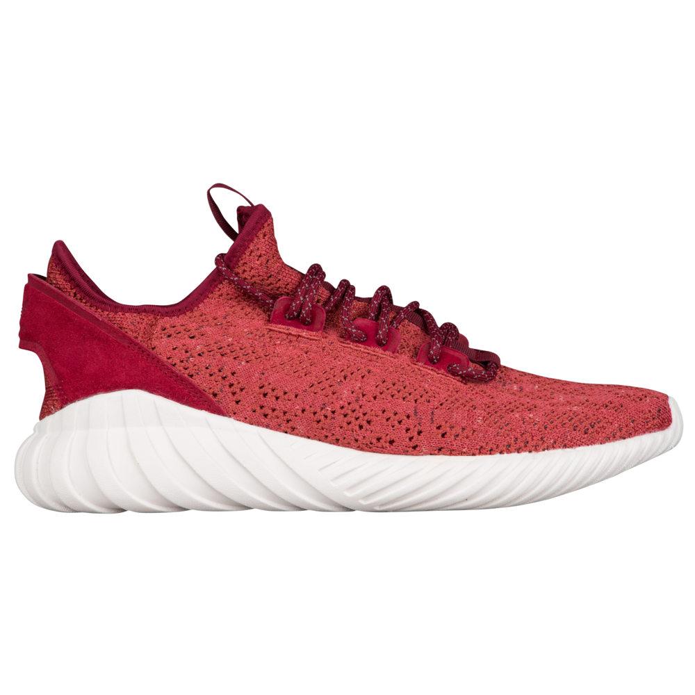 アディダス adidas Originals メンズ ランニング・ウォーキング ソックス シューズ・靴【Tubular Doom Sock Primeknit】Mystery Red/Black/Crystal White