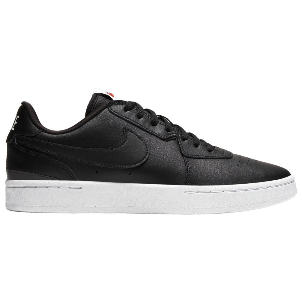 ナイキ Nike レディース ランニング・ウォーキング シューズ・靴【Court Blanc】Black/Black/Team Orange