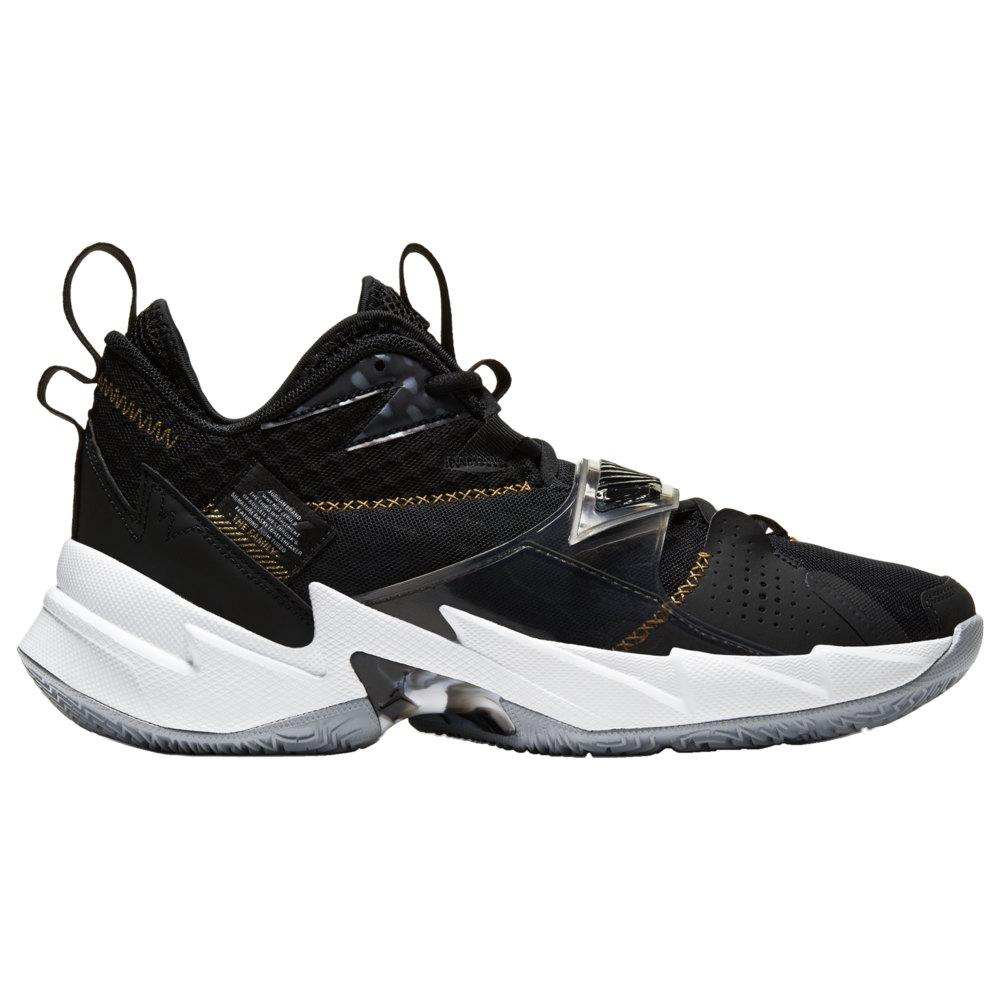 ナイキ ジョーダン Jordan メンズ バスケットボール シューズ・靴【Why Not Zer0.3】Black/Metallic Gold/White
