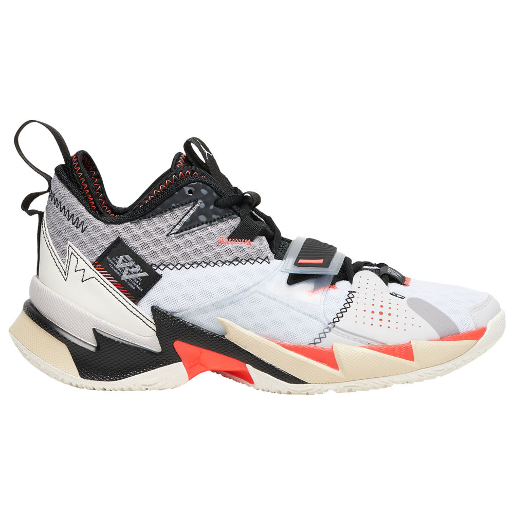 ナイキ ジョーダン Jordan メンズ バスケットボール シューズ・靴【Why Not Zer0.3】White/University Red/Black/Metallic Silver