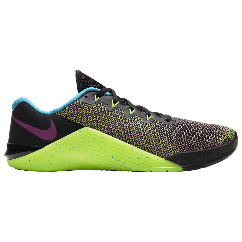 ナイキ Nike メンズ フィットネス・トレーニング シューズ・靴【Metcon 5 Amp】Black/Fire Pink/Green Strike/Blue Fury WOD Paradise