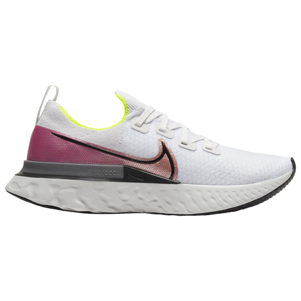 ナイキ Nike メンズ ランニング・ウォーキング シューズ・靴【React Infinity Run Flyknit】Platinum Tint/Pink Blast/Total Orange Sunrise Collection