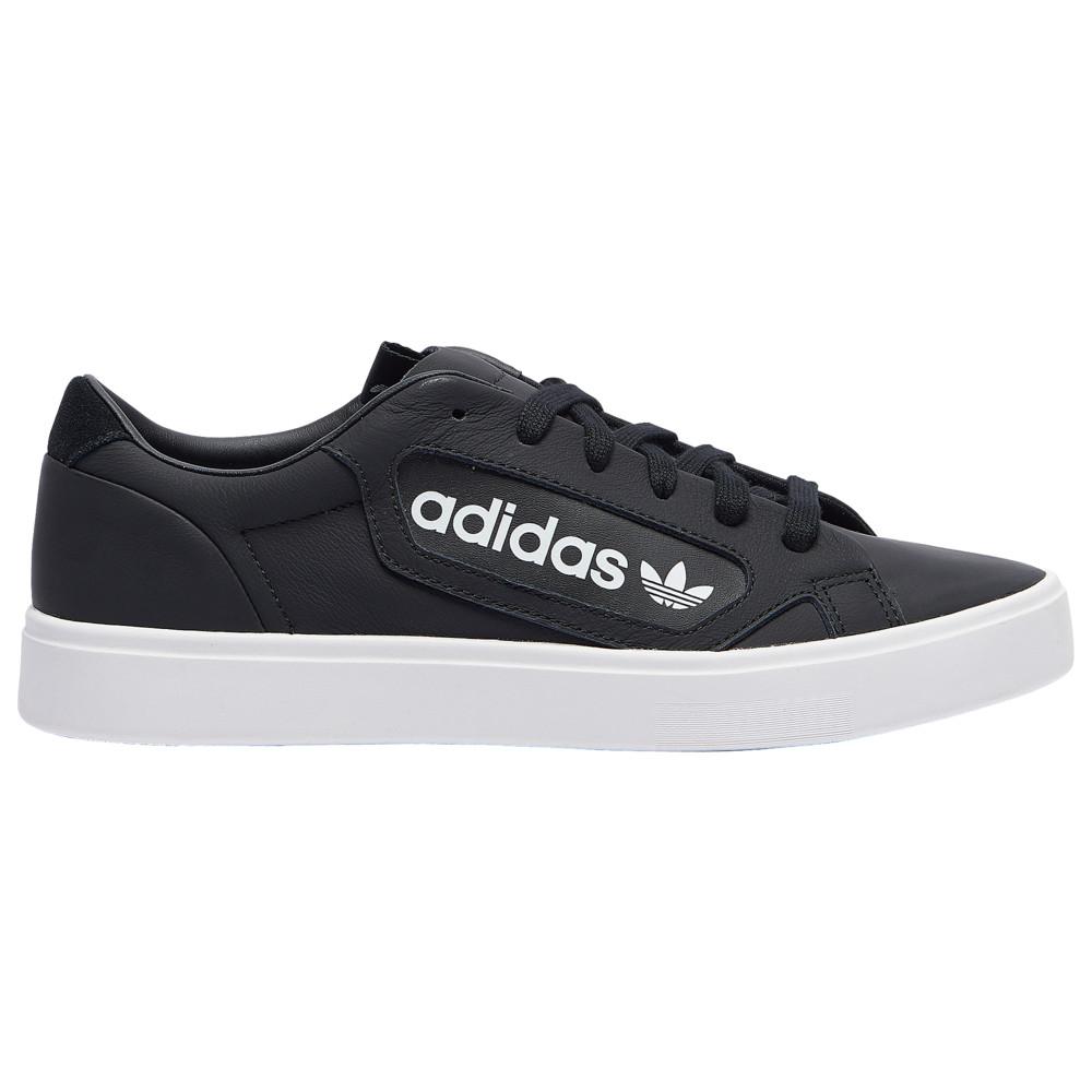 アディダス adidas Originals レディース スニーカー シューズ・靴【Sleek】Black/Crystal White/White