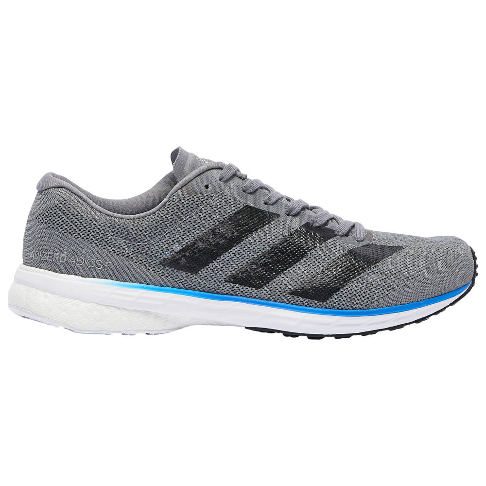 アディダス adidas メンズ 陸上 シューズ・靴【adiZero Adios 5】Grey/Core Black/Glory Blue