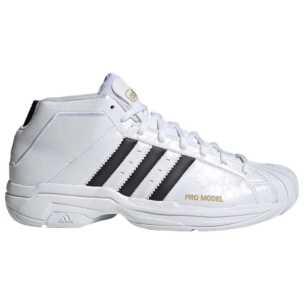 アディダス adidas メンズ バスケットボール シューズ・靴【Pro Model 2G】White/Black/Gold
