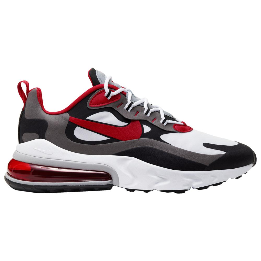ナイキ Nike メンズ ランニング・ウォーキング エアマックス 270 シューズ・靴【Air Max 270 React】Black/University Red/White/Iron Grey