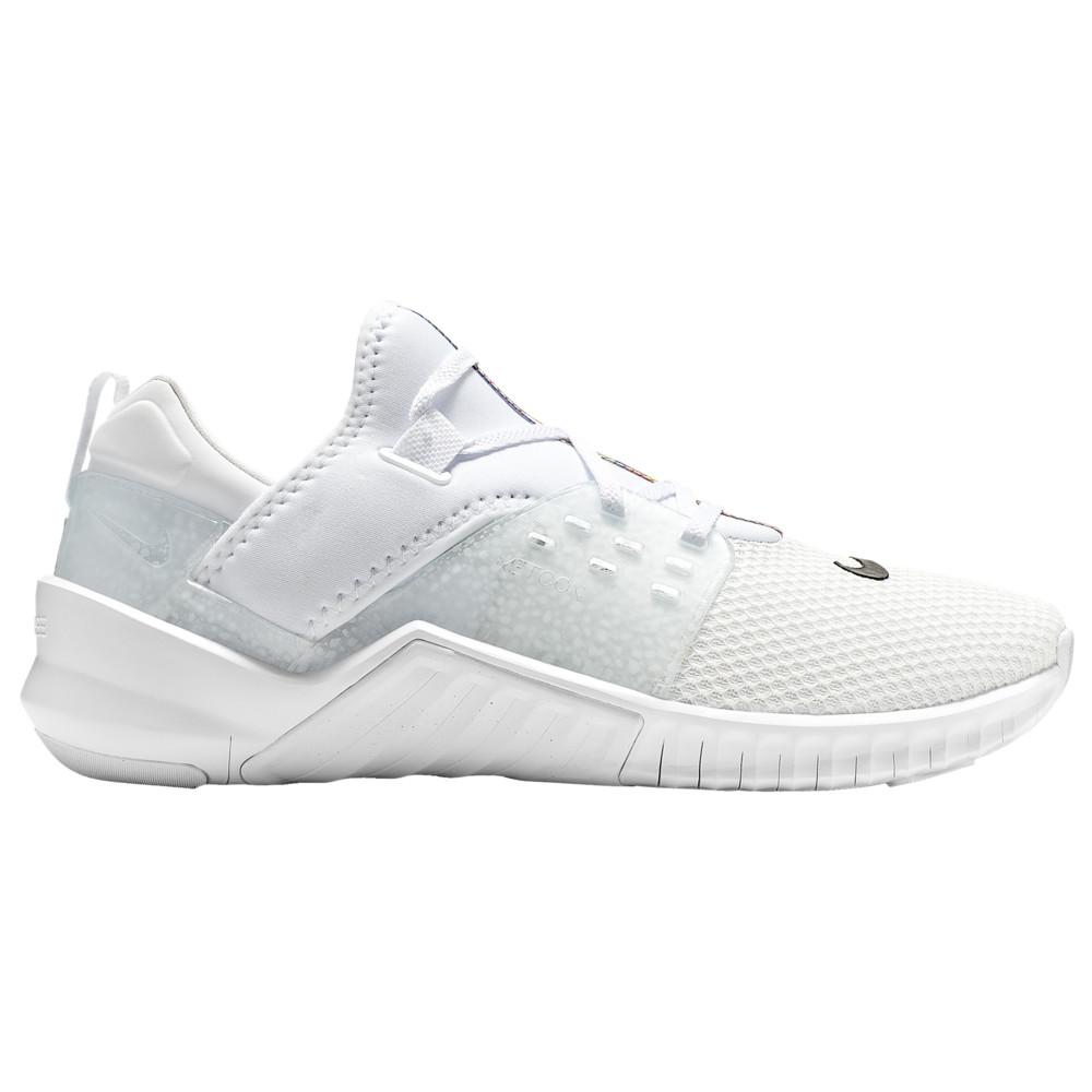 ナイキ Nike メンズ フィットネス・トレーニング シューズ・靴【Free X Metcon LE】White/White/Safari Print