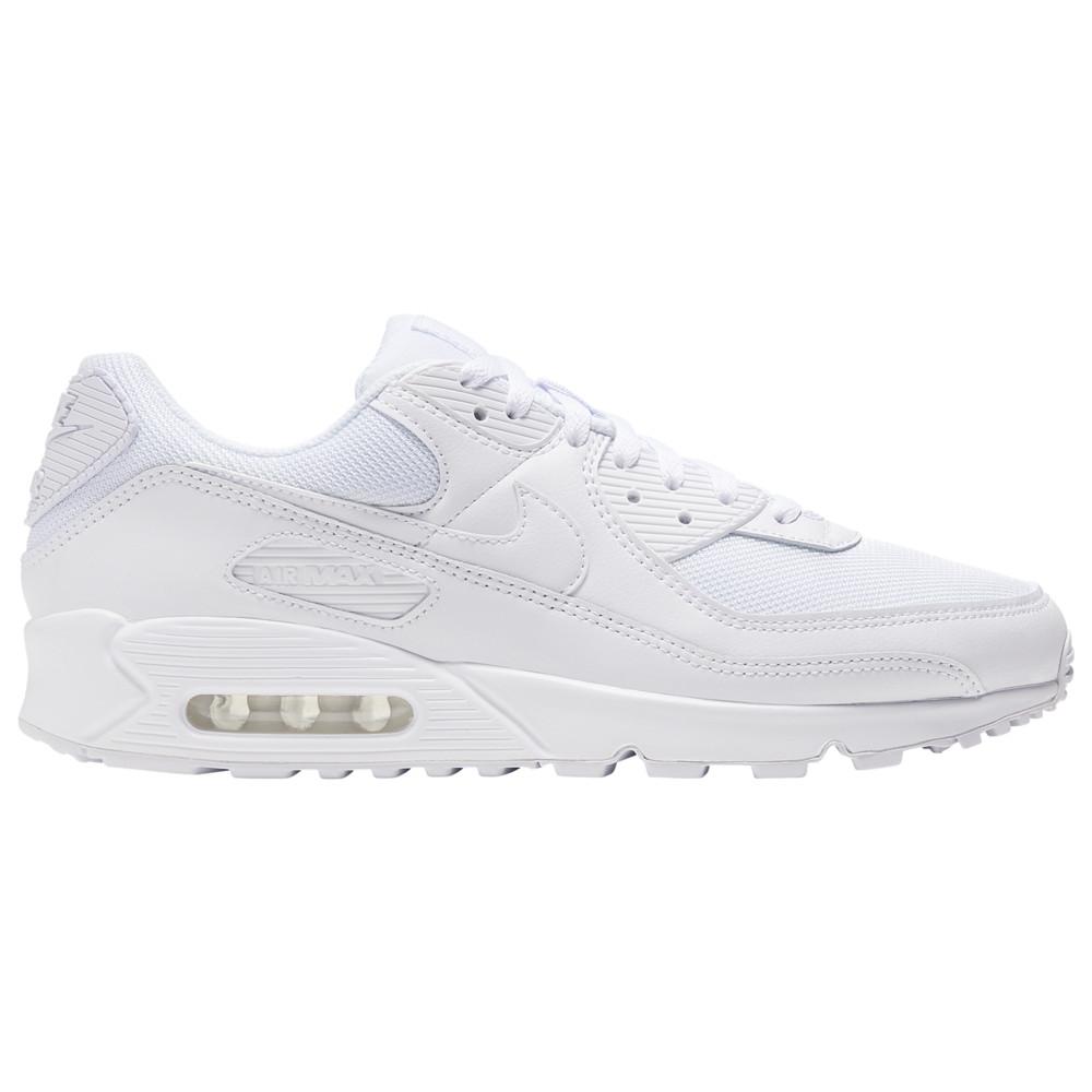 ナイキ Nike メンズ ランニング・ウォーキング シューズ・靴【Air Max 90】White/White/Wolf Grey