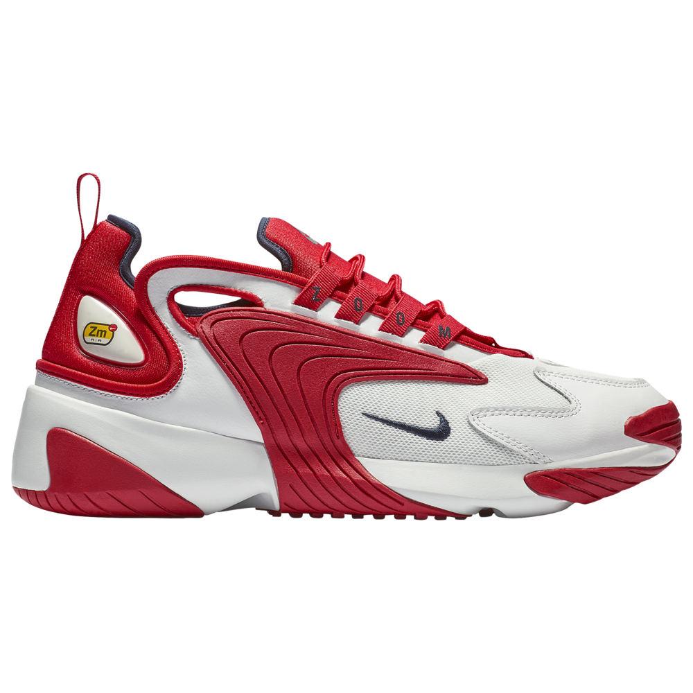 ナイキ Nike メンズ ランニング・ウォーキング シューズ・靴【Zoom 2K】Off White/Obsidian/University Red
