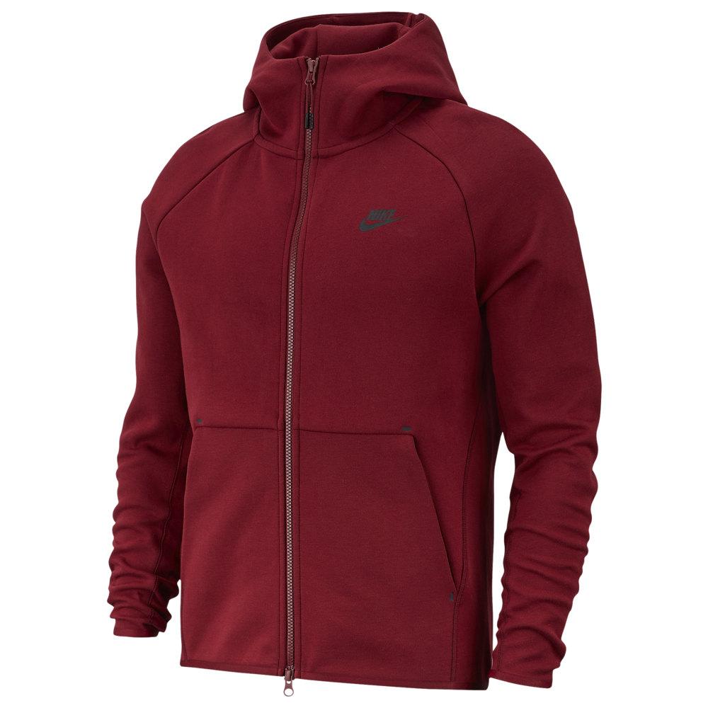 ナイキ Nike メンズ フリース トップス【Tech Fleece Full-Zip Hoodie】Team Red/Black